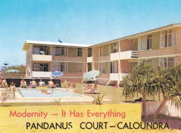 Pandanus Court Caloundra Accommodation History