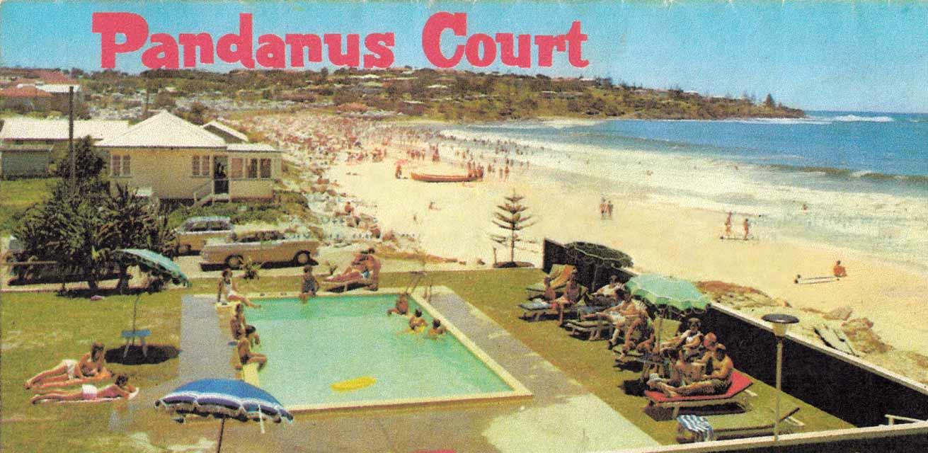 Pandanus Court view of the beach