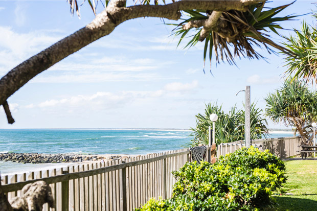 Pandanus Court Kings Beach View