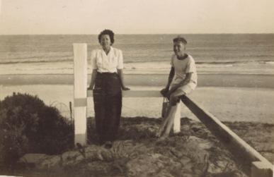 Pandanus Court vintage beach shot